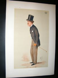 Vanity Fair Print 1874 Earl of Desart, Literary